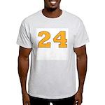 Twenty-four Orange/Blue Ash Grey T-Shirt