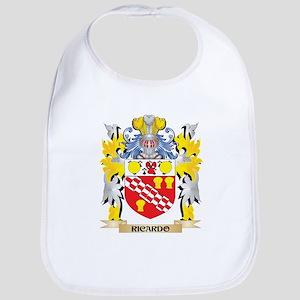 Ricardo Family Crest - Coat of Arms Baby Bib