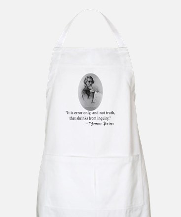 Thomas Paine Truth Quotation BBQ Apron