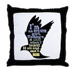 LTT LTR Throw Pillow