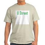 U Street Green/Blue Light T-Shirt