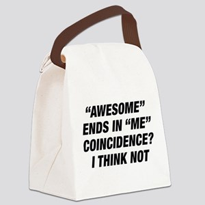 Awesome Ends In Me Canvas Lunch Bag