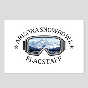 Arizona Snowbowl - Flag Postcards (Package of 8)