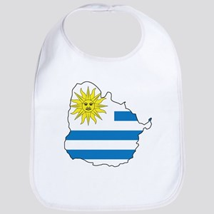 Map Of Uruguay Bib