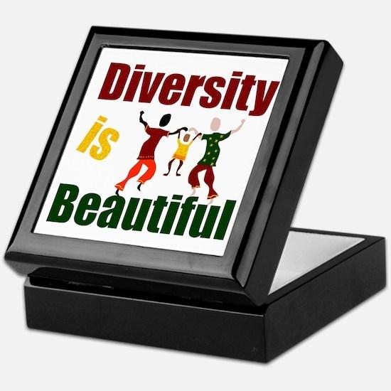 Diversity is Beautiful (3) Keepsake Box