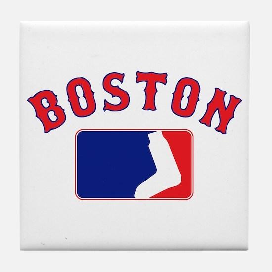 Boston Sox Fan Tile Coaster