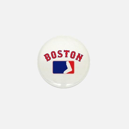Boston Sox Fan Mini Button
