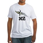 Command Z Fitted T-Shirt