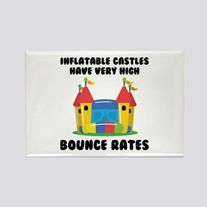 Bounce Rates Rectangle Magnet (10 pack)