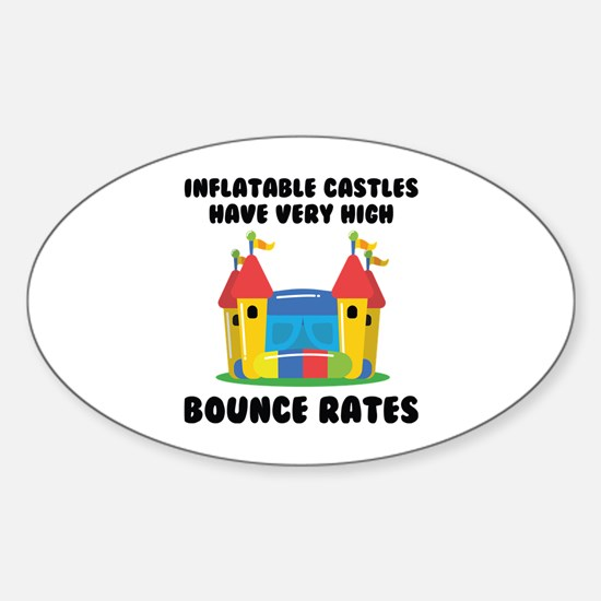 Bounce Rates Sticker (Oval)