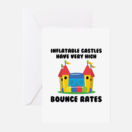 Bounce Rates Greeting Cards (Pk of 20)