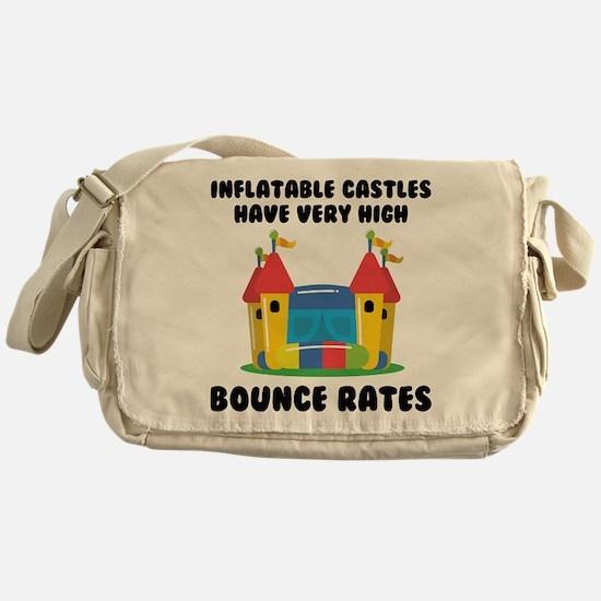 Bounce Rates Messenger Bag