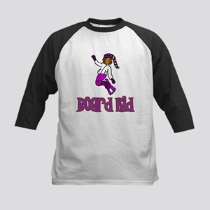 Board Kid Abigail Kids Baseball Jersey