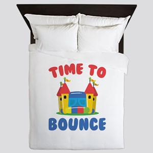 Time To Bounce Queen Duvet