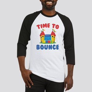 Time To Bounce Baseball Jersey