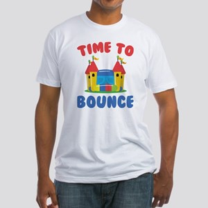 Time To Bounce Fitted T-Shirt