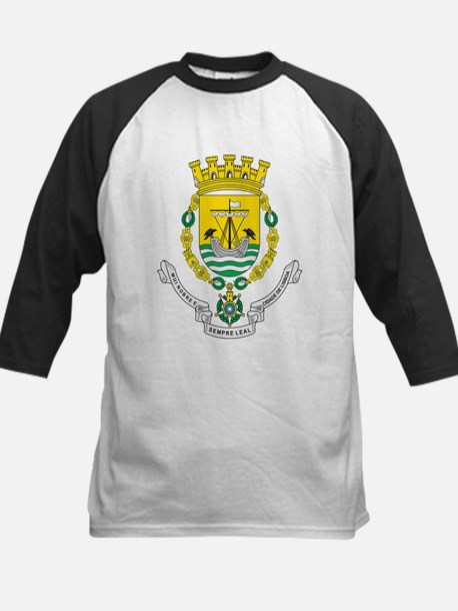 Lisbon Coat Of Arms Kids Baseball Jersey