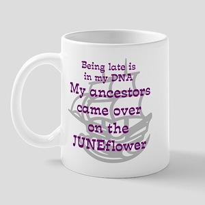 Genealogy JUNEFlower Mug