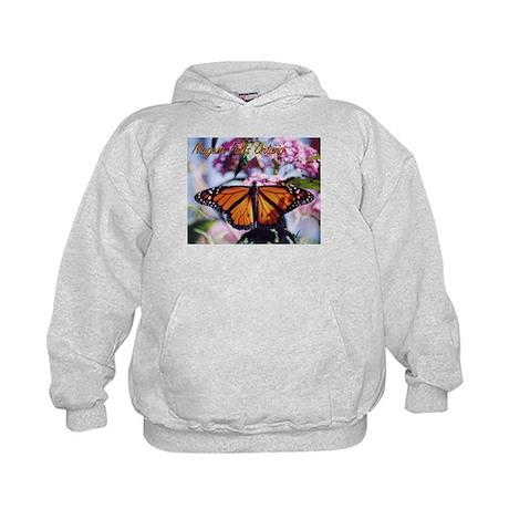 Monarch Butterfly Kids Hoodie