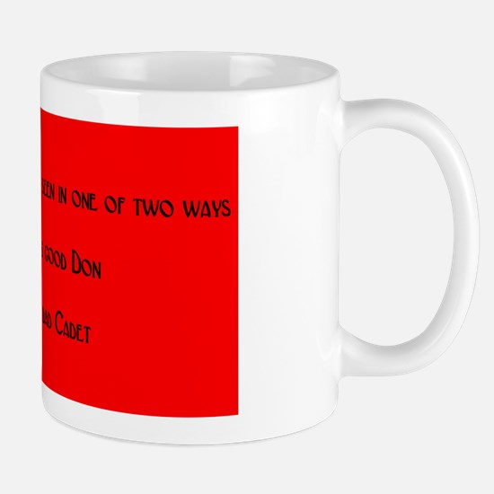 Good Don Bad Cadet Mug