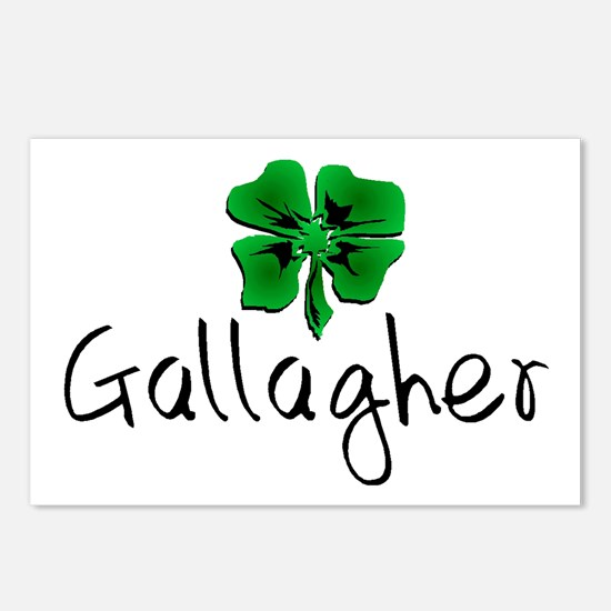 Gallagher St Patrick's Day Postcards (Package of 8