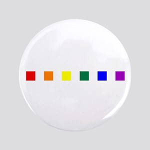 "Rainbow Pride Squares 3.5"" Button"