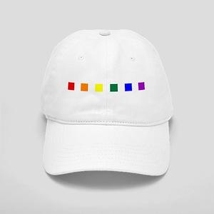 Rainbow Pride Squares Cap