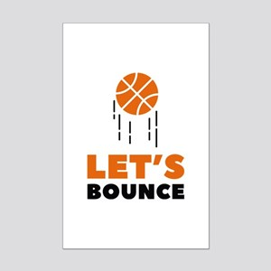 Let's Bounce Mini Poster Print