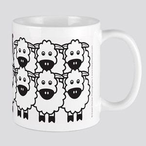 Collie in Sheep Mug