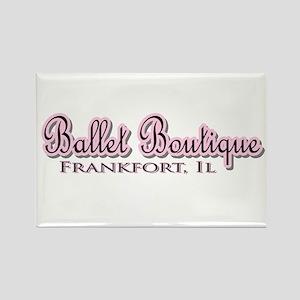 Ballet Boutique Rectangle Magnet (10 pack)