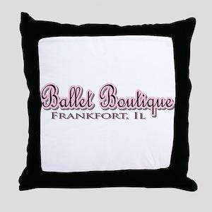 Ballet Boutique Throw Pillow