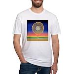 2998.mandala? Fitted T-Shirt
