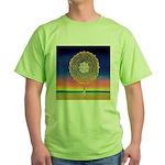 2998.mandala? Green T-Shirt