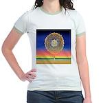2998.mandala? Jr. Ringer T-Shirt