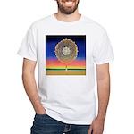 2998.mandala? White T-Shirt