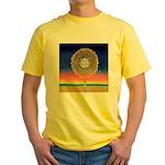 2998.mandala? Yellow T-Shirt