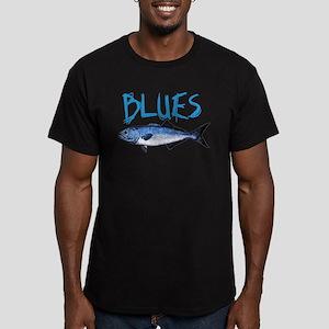 Blues Men's Fitted T-Shirt (dark)