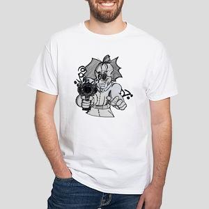 BLASTEM'MAN... Graffiti Art White T-Shirt