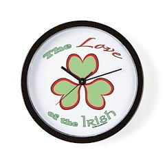 Love of the Irish Wall Clock