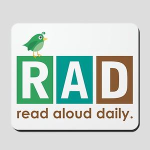 Bird Read Aloud Daily Books Mousepad