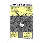 Dry Bones Large No Nukes Poster