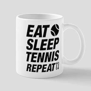 Eat Sleep Tennis Repeat Mug