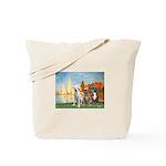 Regatta / 3 Boxers Tote Bag