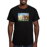 Regatta / 3 Boxers Men's Fitted T-Shirt (dark)
