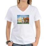 Regatta / 3 Boxers Women's V-Neck T-Shirt