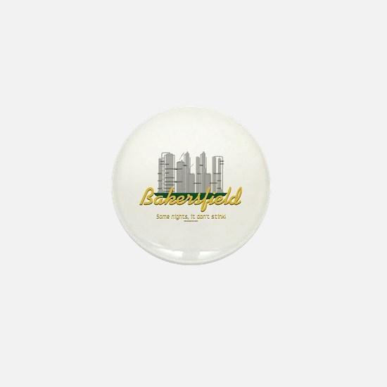 Bakersfield, sometimes it don't stink! Mini Button
