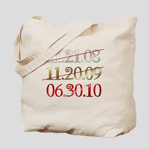 blank - dates Tote Bag