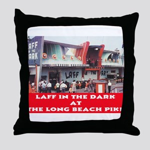 Laff In The Dark Throw Pillow