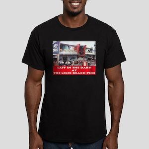 Laff In The Dark Men's Fitted T-Shirt (dark)