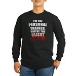 Victim Long Sleeve Dark T-Shirt